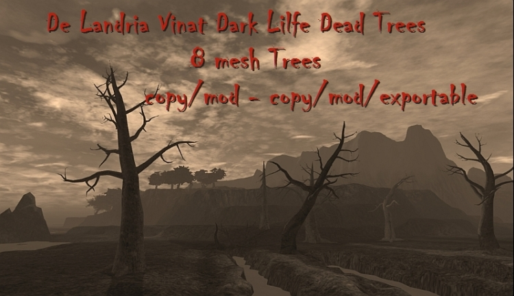 De Landria Vinat Dark Life Dead Tree Collection