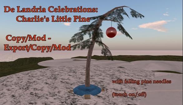 De Landria Celebrations: Charlies Little Pine