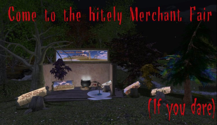 Merchant Faire Booth Night